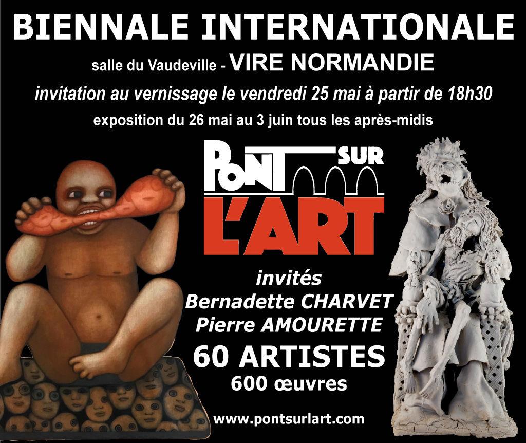 Karly et Anne V, Sede, Dominique Fischback, peinture, sculpture, arts numériques, Vire, Normandie, Biennale Internationale