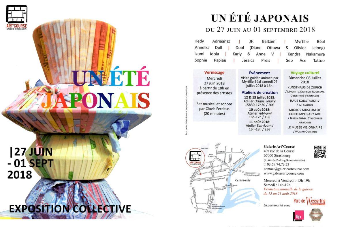 STRASBOURG, JAPON, GALERIE ART COURSE, BORO, TISSUS